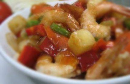 Thai Sweet And Sour Prawns