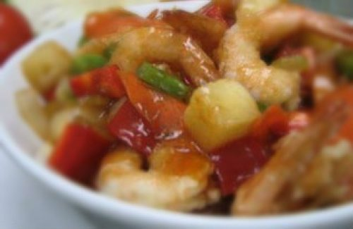 Thai Sweet And Sour Prawns