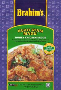 Brahim's Recipe: #26 Honey Prawns and Mango Kerabu