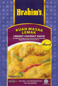 Brahim's Recipe: #24 Tempe and Vegetables in Creamy Coconut Gravy