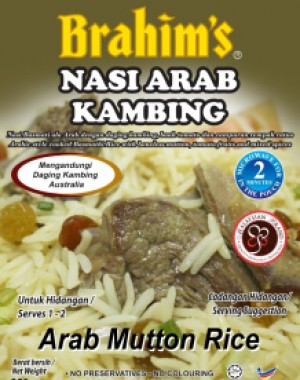 Nasi Arab Kambing