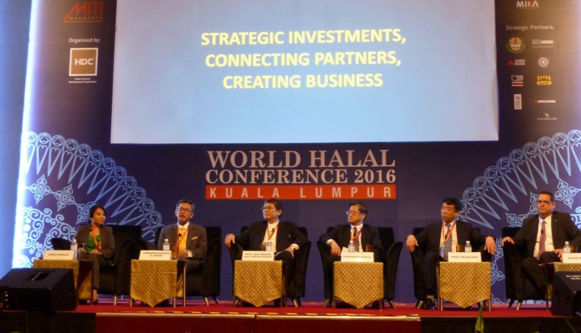 Brahim's in Thought Leadership session at World Halal Conference 2016