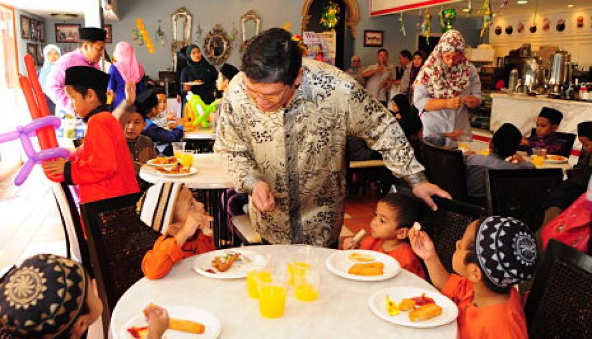 Brahim's Dewina Group of Companies and Food Aid Foundation to feed the needy
