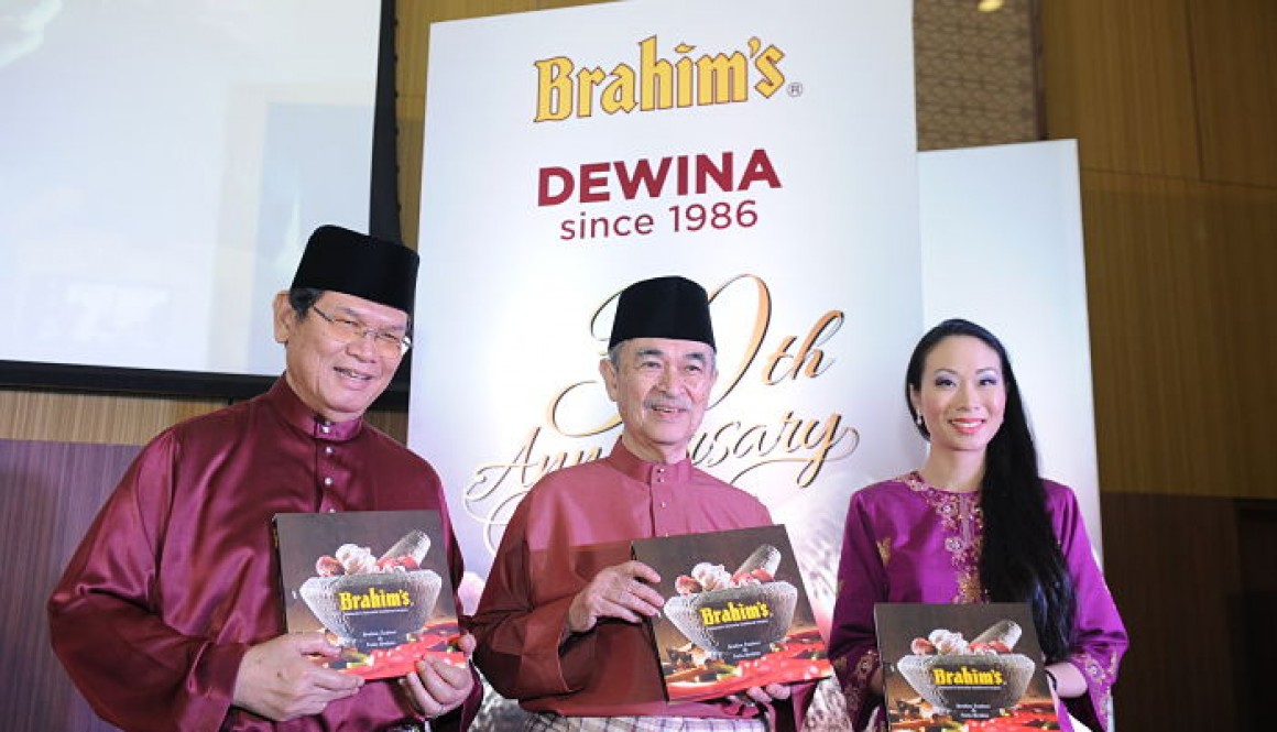 Brahim's recipe book launch in conjunction with Brahim's Dewina 30th anniversary celebration