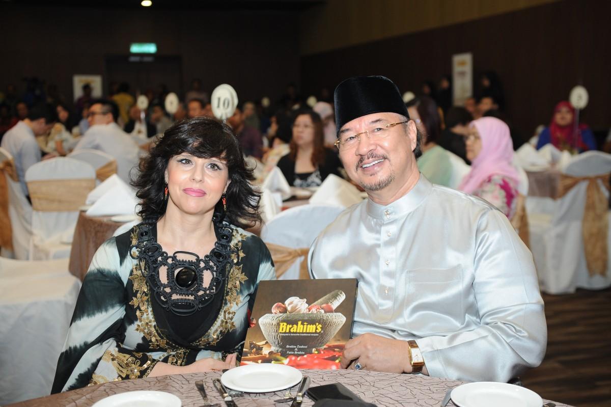 Brahim's recipe book netted RM9,000 donation for Baitul Hayati Foundation
