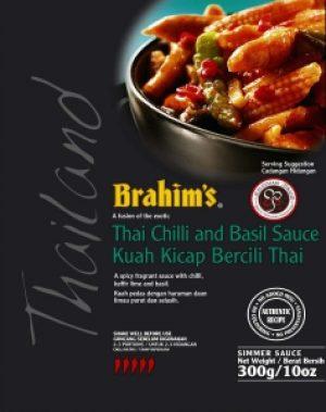 Thai Chilli and Basil Sauce