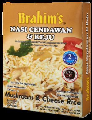 Mushroom And Cheese Rice