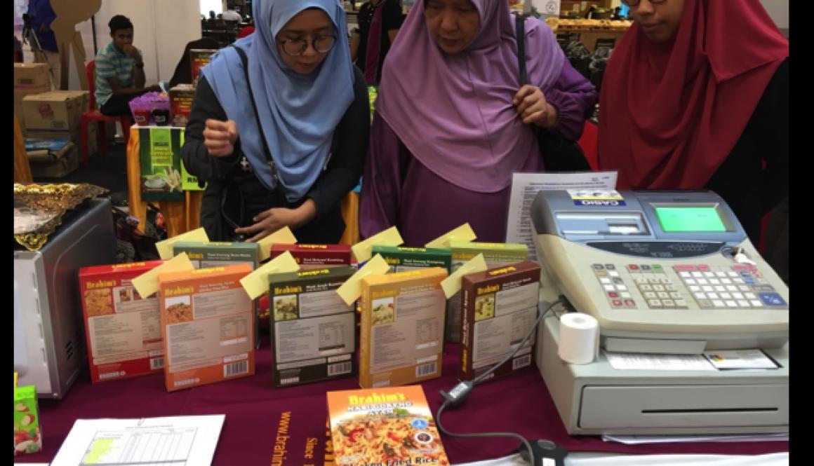 Halal showcase at Mydin Seremban 2
