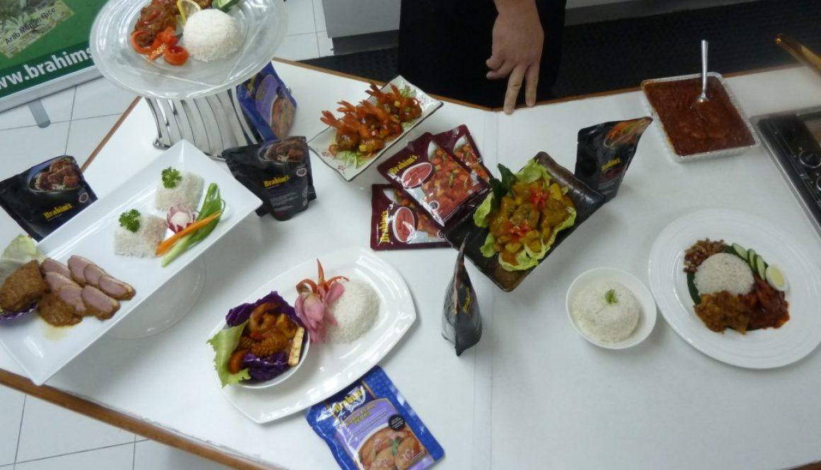 Brahim's Chinese New Year dishes