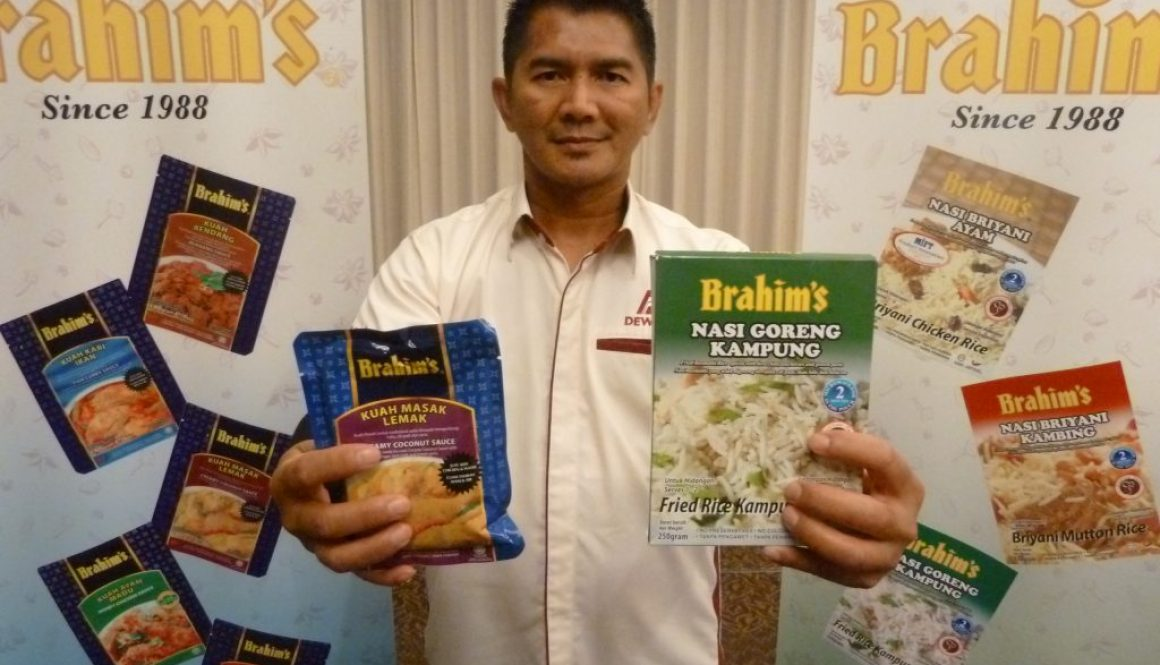 Brahim's launches ready-to-cook sauces and ready-to-eat rice in Kota Kinabalu