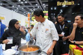 Cooking demo begins