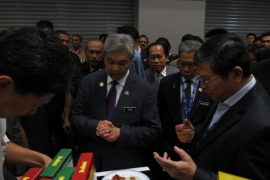 Deputy Prime Minister visits Brahim's booth