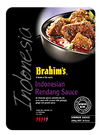 Brahim's Recipe: #7 Chicken And Vegetable Rendang Pizza