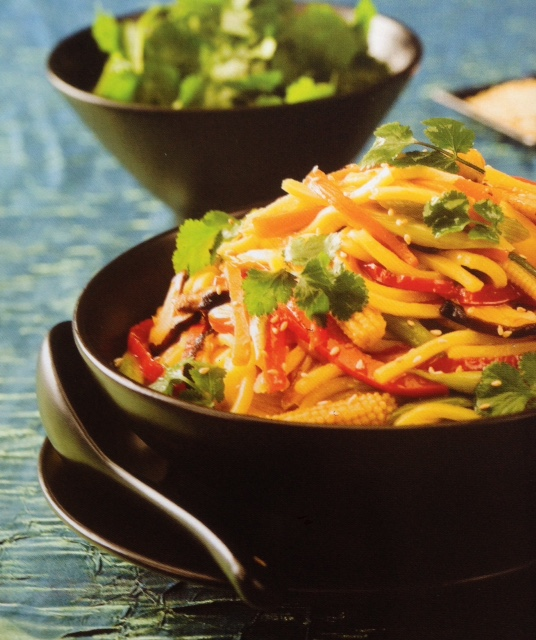 Brahim's Recipe: #19 Vegie Sweet and Sour Noodles