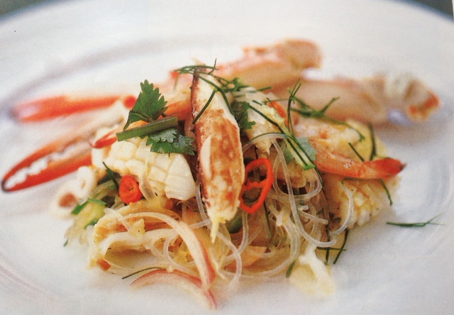 Brahim's Recipe: #21 Seafood and Glass Noodle Salad