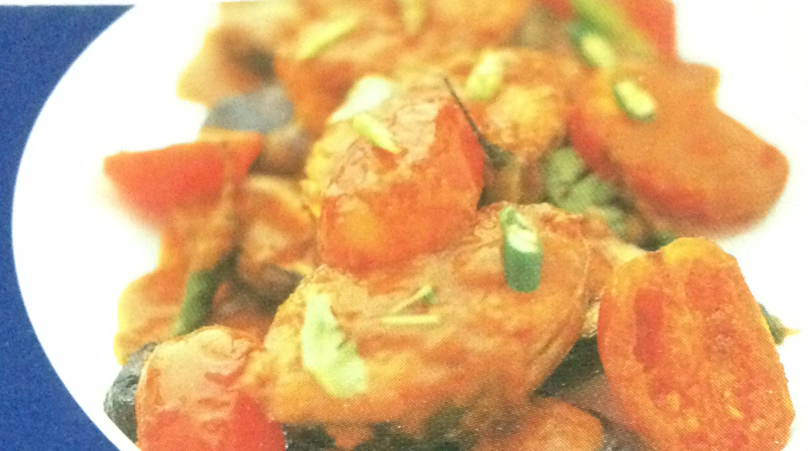 Brahim's Recipe: #27 Fish and Tomato Curry