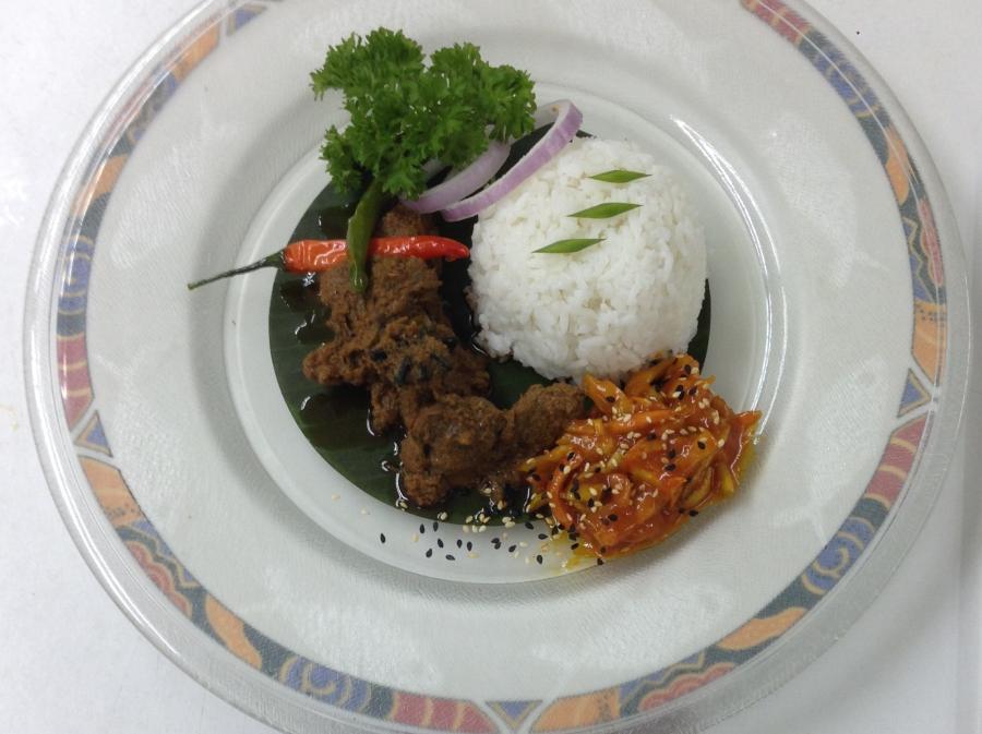 Brahim's Recipe: #14 Beef Rendang