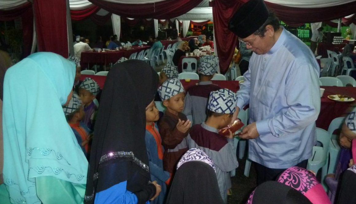 Brahim's Dewina celebrates the less fortunate children