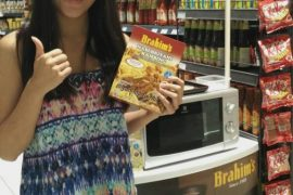 Brahim's rice cooking demo and sampling for September