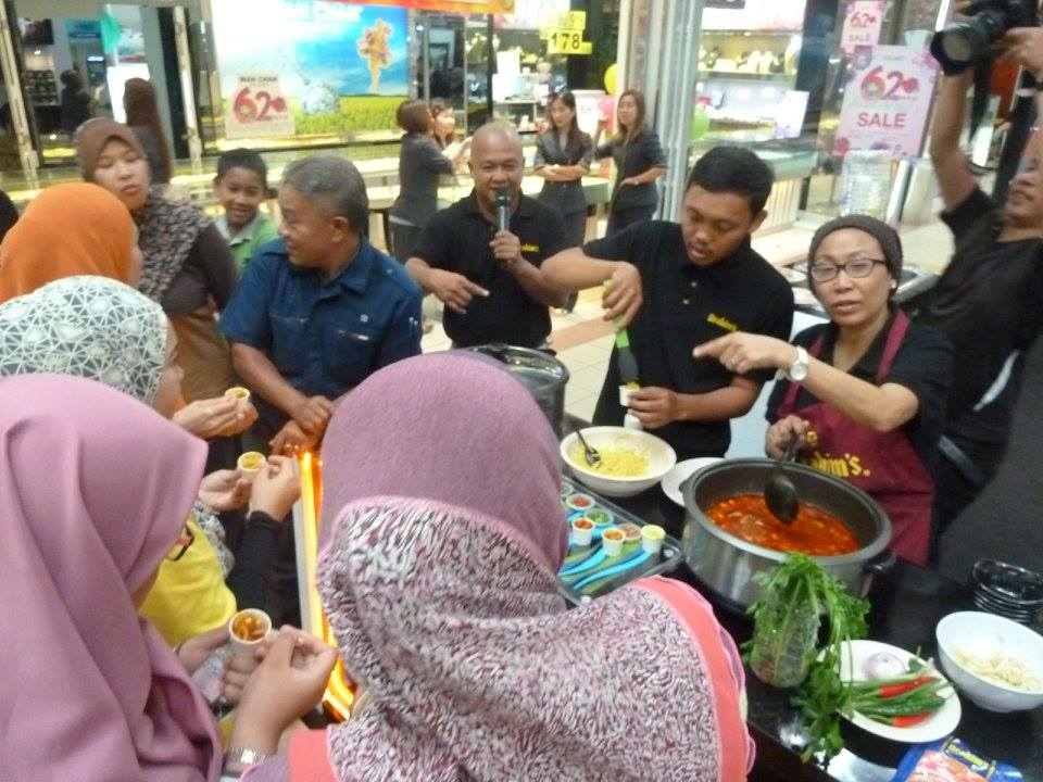 Brahim's 'Anyone Can Cook' Roadshow Kuantan