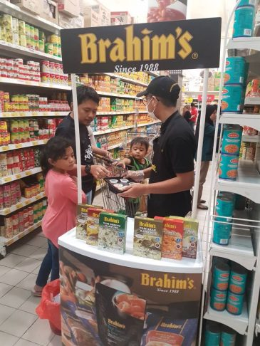 Brahim's rice cooking demo and sampling in November