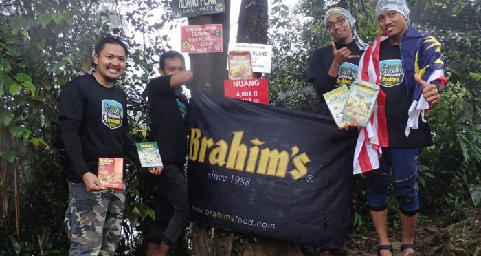 Brahim's conquer the mountain