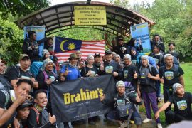 Dewina launches 4 series of Mountain Climbing Expeditions with Brahim's