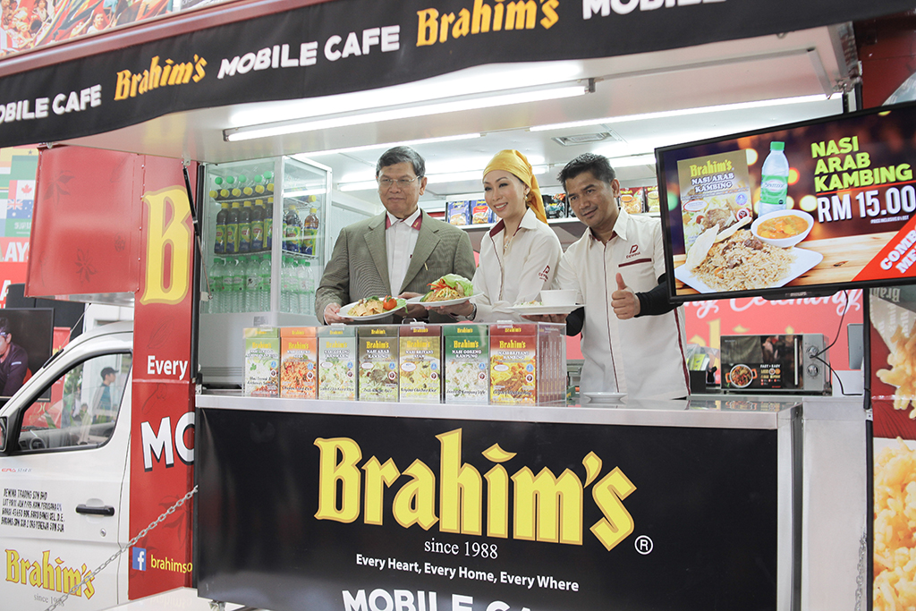 Brahim's Mobile Cafe Launch 27 February 2018