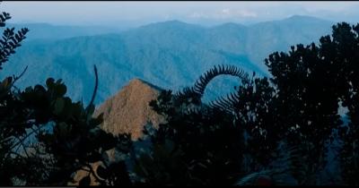 The view of Korga's peak is breathtaking.