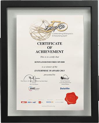 Enterprise 50 Awards (SME Corp) 2013