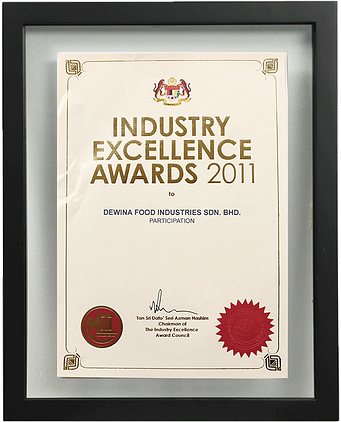 Industry Excellence Award, Product Innovation (Gold) Award 2011, MIFT