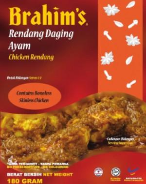 Rendang Daging Ayam