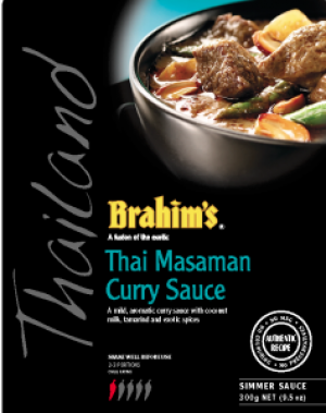 Thai Masaman Curry Sauce