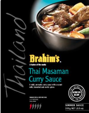 Thai Masamam Curry Sauce