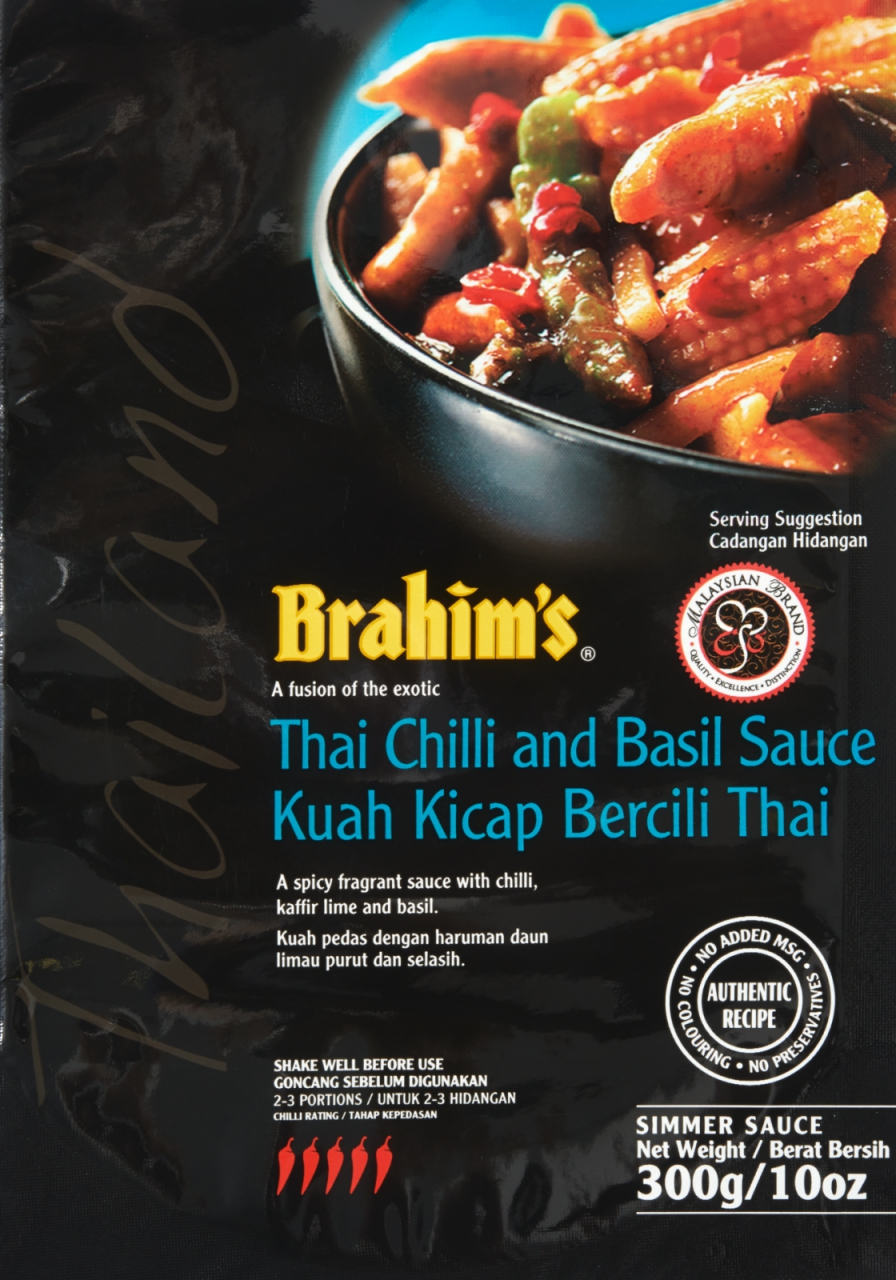 Thai Chilli and Basil Sauce