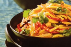 Vegie Sweet And Sour Noodles