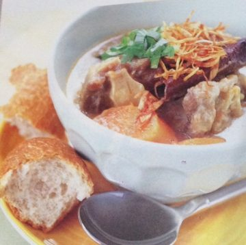 Spicy Oxtail Soup