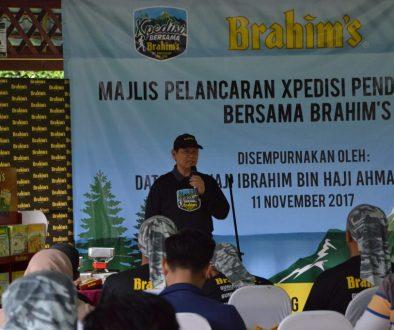 welcome address xpedisi daki gunung bersama brahims