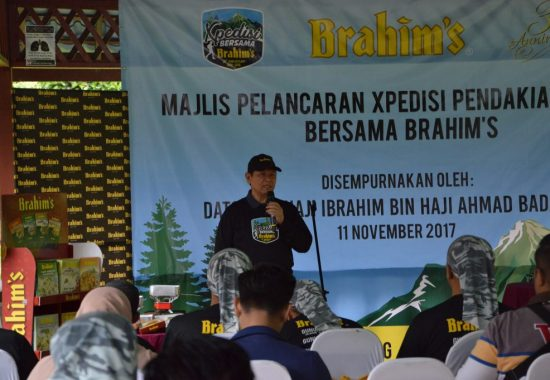 welcome address xpedisi daki gunung bersama brahims