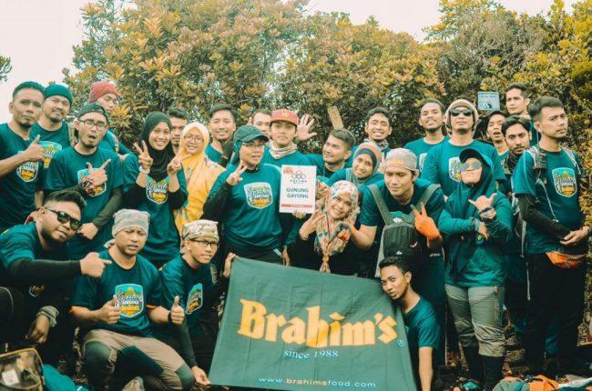 Participants at Gunung Gayong (Korga)