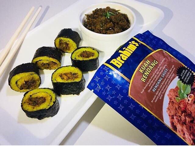 Sushi Pulut Kuning @adiana_ana
