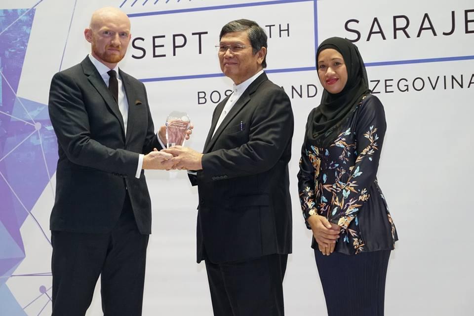 GIFA Best Halal Brand Award (Global Islamic Finance Award) 2018