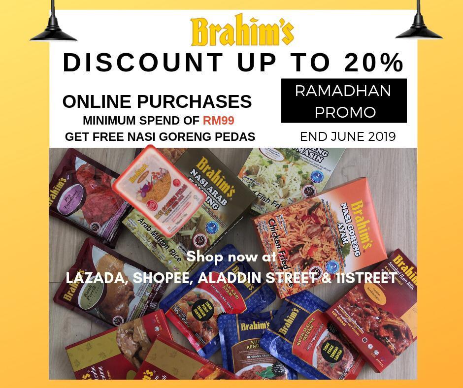 Brahim's Online Ramadhan Promo 2019