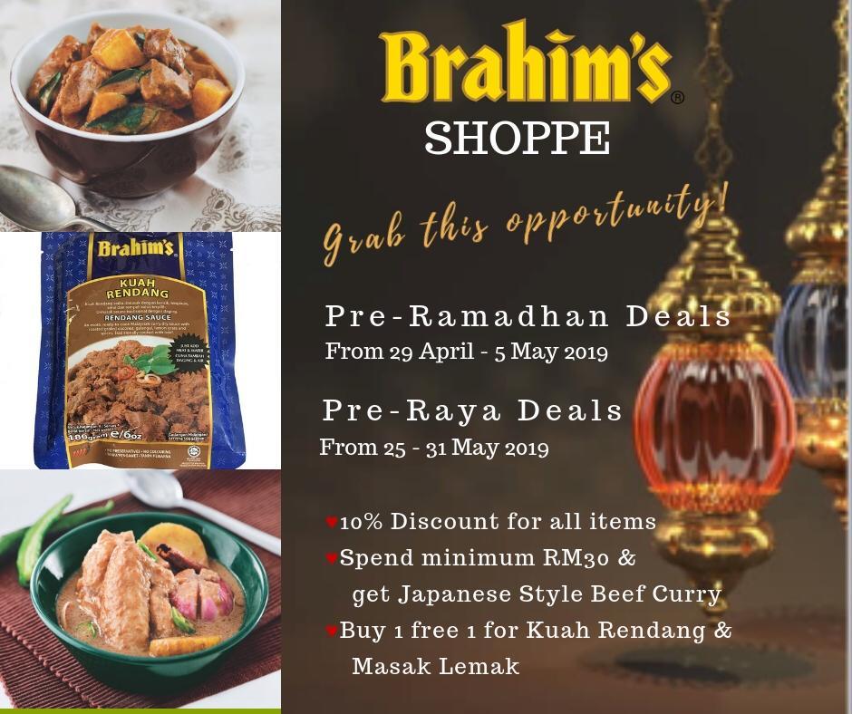 Brahim's Shoppe Ramadhan Promo 2019