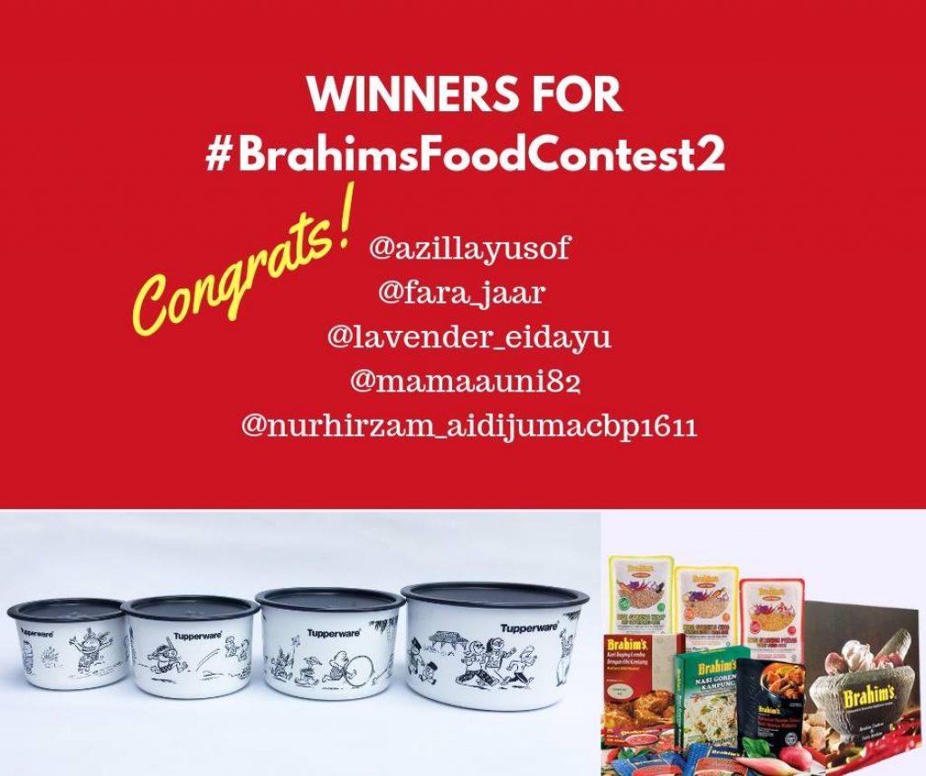 #BrahimsFoodContest2 ~ winning photos