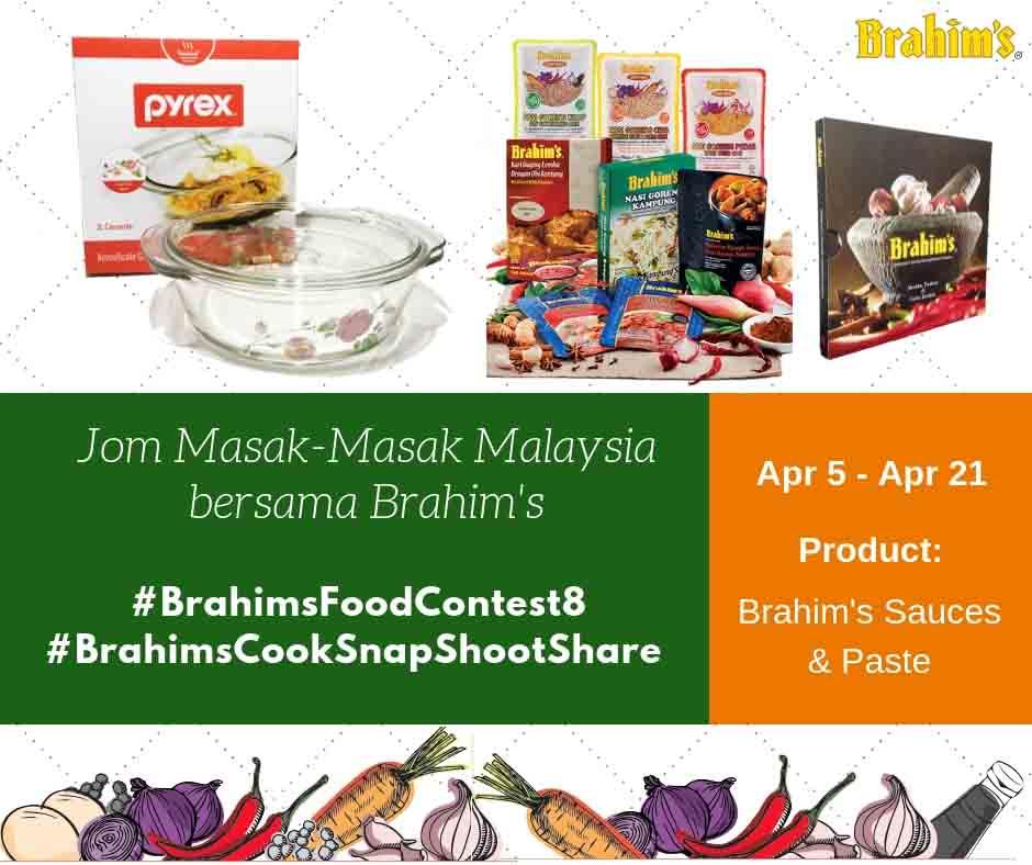 Brahim's Food Contest