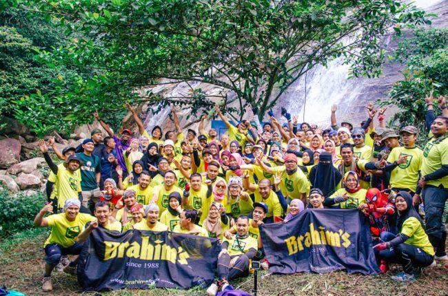 Participants at Gunung Bintang Kedah