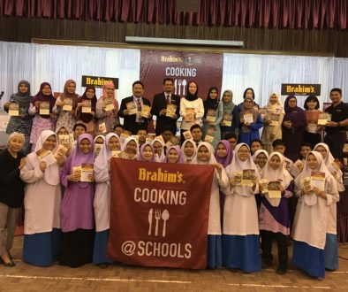 Brahim's Cooking@Schools Launch