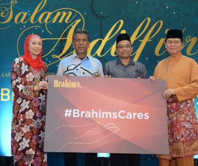Brahim's Dewina Group Hari Raya Celebration & Launching of #BrahimsCares