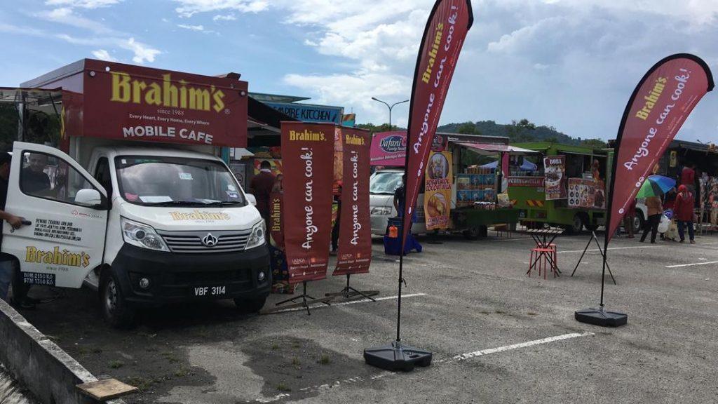 Brahim's Mobile Cafe Roadshow at Karnival Jom Heboh TV3 Batu Kawan, Penang